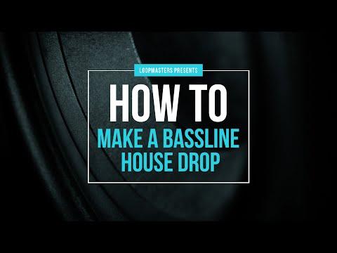 How to make a Bassline House Drop   House Music Drop Tutorial   House Drop Tutorial