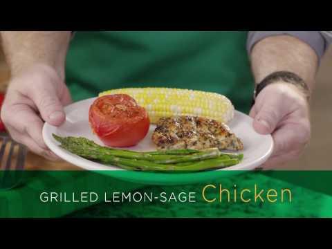 Get Grilling - Lemon Sage Chicken