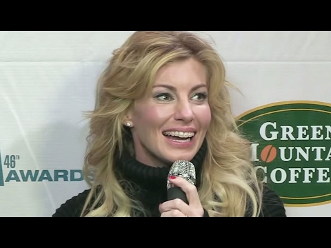CMA Awards: Interview with Faith Hill - YouTube
