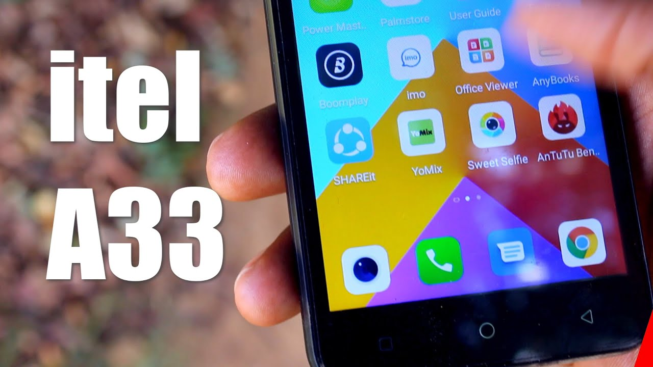 video Itel A33 1GB RAM / 16GB ROM Android 8.1