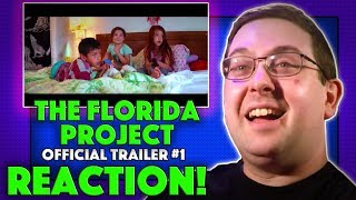 REACTION! The Florida Project Trailer #1 - Willem Dafoe Movie 2017