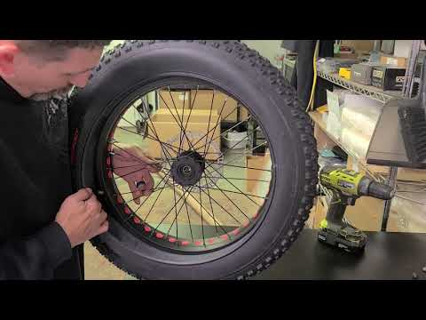 Fat Tad tire/rotor change (continuation)