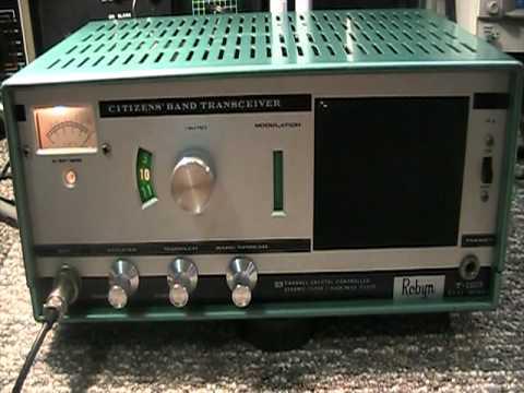 robyn t 123 tube type classic vintage cb radio tx mode. Black Bedroom Furniture Sets. Home Design Ideas