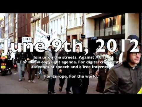 June 9th 2012 - Europe-wide action against ACTA