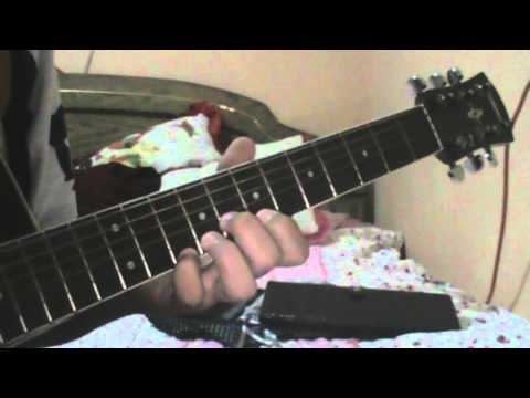 Tutorial Guitarra The Raising Fighting Spirit - Naruto Theme
