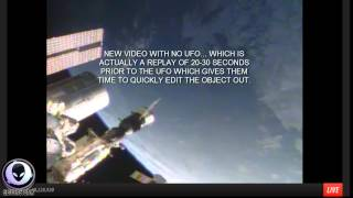 7 8 2014 BUSTED! NASA EDITS GIANT SAUCER UFOS ABOVE EARTH