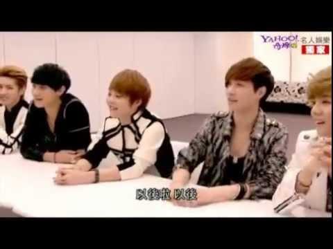 [ENG SUB] EXO-M Yahoo Interview 121120 (Part 2/4 - Tao, Xiumin, Chen)