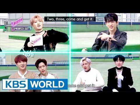 [KBS World Magazine K-Rush 2017.03.31] Ep.4 : GOT7's comeback interview!