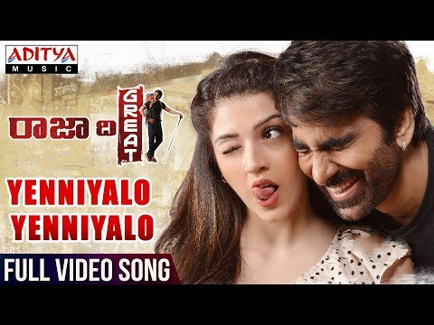 Yenniyalo-Yenniyalo-Full-Video-Song---Raja-The-Great