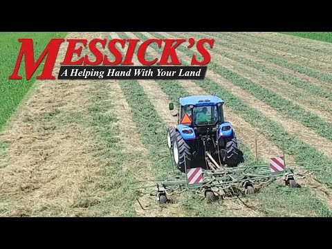 Hay tool sizing, pairing a tedder to your windrow Picture
