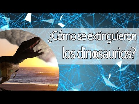 ¿Cómo se extinguieron los dinosaurios?