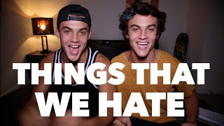 OUR BIGGEST PET PEEVES! // Dolan Twins