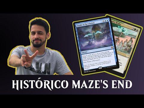 Histórico Maze's End com Ariel Rodrigues