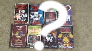 Ranking ALL of the FNAF Books!