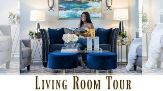 ✨Glam Home✨ HOME MAKEOVER PART 7 | GLAM LIVING ROOM TOUR