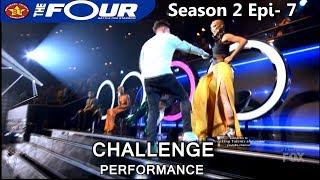 """Dylan Jacob raps """"Quiet Storm"""" Challenge Performance The Four Season 2 Ep. 7 S2E7"""