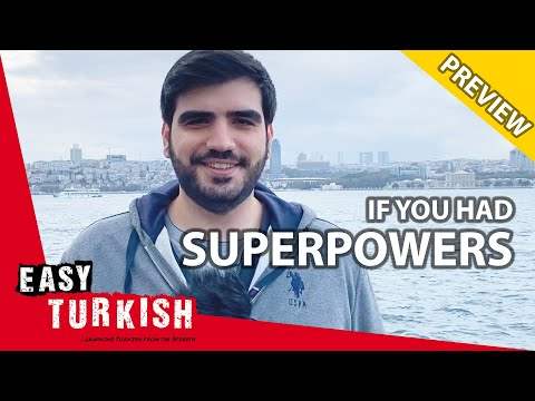 Which Superpower Would You Choose? (PREVIEW) | Easy Turkish 34 photo
