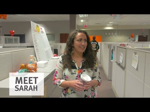 Meet Sarah and life in the call center