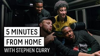 Stephen Curry and Kevin Durant Surprise High School Team | 5 Minutes from Home