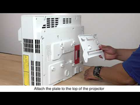 Epson EB-1485Fi Projector Installation Guide #3 - Assemble the Wall Plate