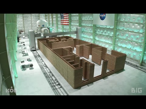 """BIG and ICON to 3D-print structure exploring """"new Martian vernacular"""" for NASA"""