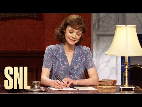 The War in Words: Bertie and Mary - SNL