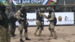 Dancing russian troops