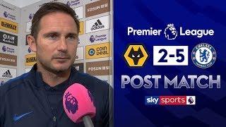 Lampard praises Abraham hat-trick!   Post Match   Wolves 2-5 Chelsea