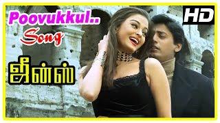 Jeans Movie Scenes | Prashanth meets Aishwarya | Poovukkul song | Nassar realise truth | Raadhika