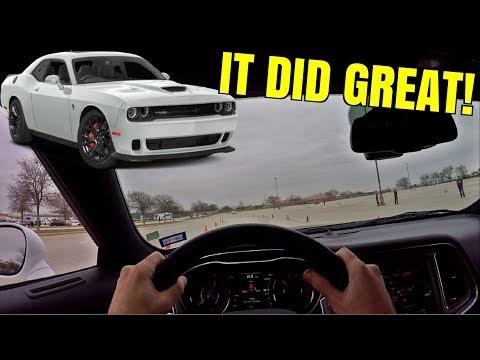 Hellcat Challenger vs AUTOCROSS RACING