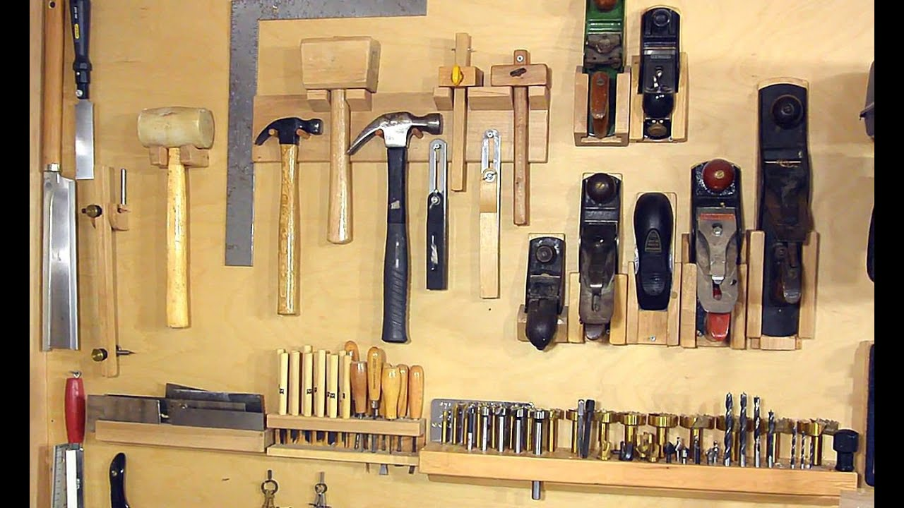Not A French Cleat System For Organizing Hand Tools Youtube