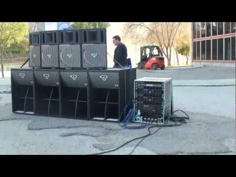 Afial - Demostracion de sonido array - Cerwin Vega