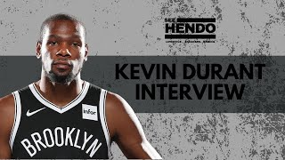 Kevin Durant Live interview