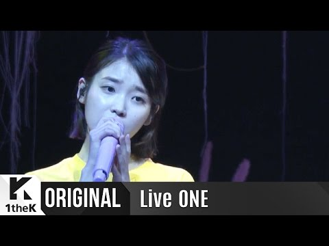Live ONE(라이브원): Full Ver. IU(아이유)_Palette(팔레트)_Sensible and Tender Voice is even more Emphasized