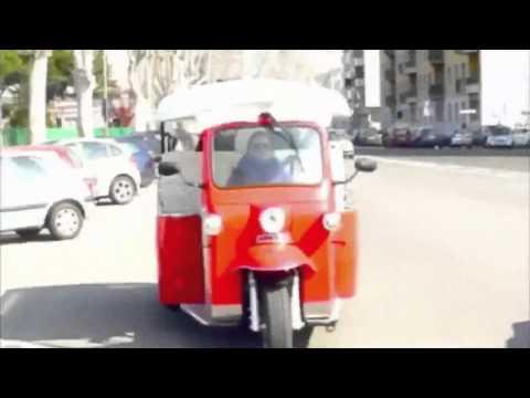 Tuk Tuk in Rome