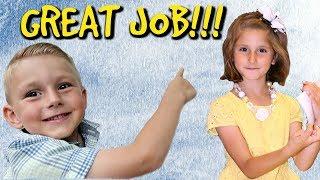 Kids' BIG accomplishments!