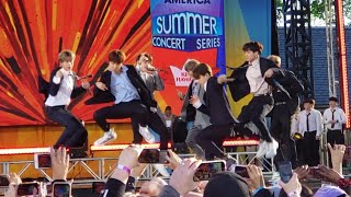 190515 Fire Soundcheck Rehearsal @ BTS Good Morning America GMA Summer Concert New York City