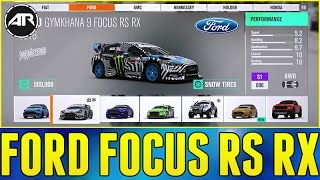 Forza Horizon 3 Blizzard Mountain : How To Unlock Ken Block's Ford Focus RS RX!!! (Part 4)