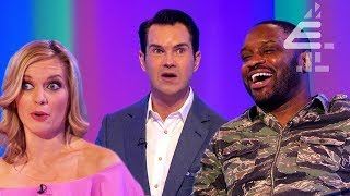 """""""You're S******g in Your Bed?!"""" - Lethal Bizzle SHOCKS Jimmy Carr! 