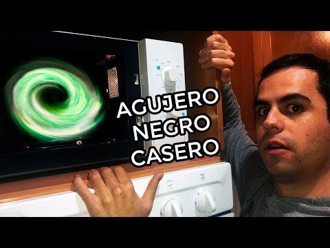 Cómo hacer un agujero negro casero