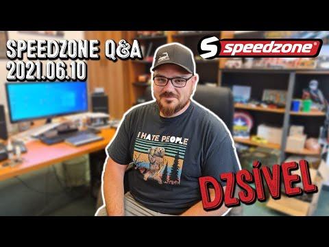 Speedzone Q&A Dzsível 2021.06.10