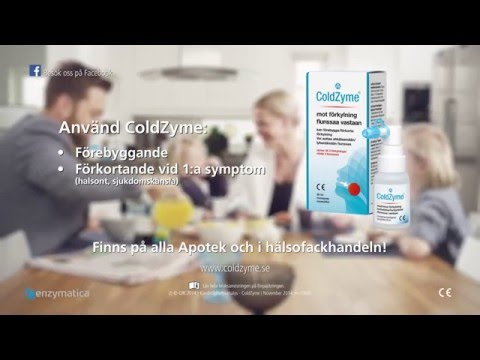 Coldzyme 20 sek Commercial 2016