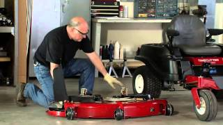 How to Remove a Mower Deck: Toro TimeCutter A Wiring Diagram For Toro Z on