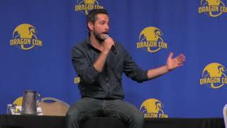 Zachary Levi shares with fans his hearbreak over Nerd HQ's future at Dragon Con
