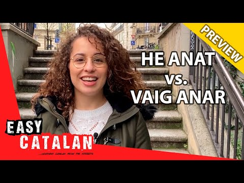 How to Use the Past Tense in Catalan (PREVIEW) | Super Easy Catalan 11 photo