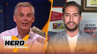Nick Wright talks Damian Lillard vs Kobe & Iverson, LeBron's ability to save the Lakers | THE HERD