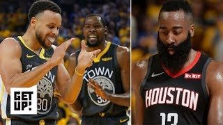 James Harden isn't choking, the Warriors are just playing good defense – Sean Farnham | Get Up!