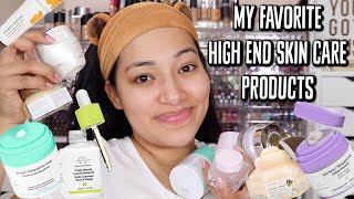 HIGH END SKINCARE MUST HAVES! MY COMBINATION SKIN LOVES IT