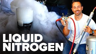Making Liquid Nitrogen From Scratch!