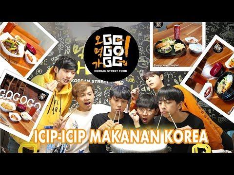 MAKANAN KOREA Under Rp.50.000 BENERAN ?  ( GO!GO!GO!Korean Street Food )